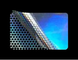 PLOMBY HOLOGRAFICZNE TĘCZA PLASTER MIODU D-150M