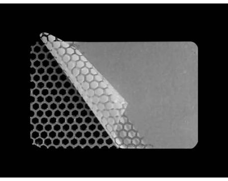 PLOMBY BIAŁE POŁYSK PLASTER MIODU D-452M2